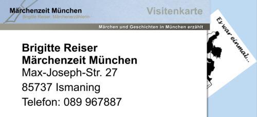 Presse Märchenerzähler Brigitte Reiser München